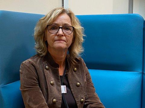 RØNTGEN: Avdelingsleder Gunhild Mari-Anne Opsahl ved radiologisk avdeling på Sykehuset i Vestfold beklager at det ble en forbytting av pasienter til røntgen.