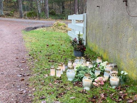 Venner og familie minnes kvinnen i 20-årene som gikk bort etter ulykken på Nøtterøy mandag. Foto: Sindre Øen