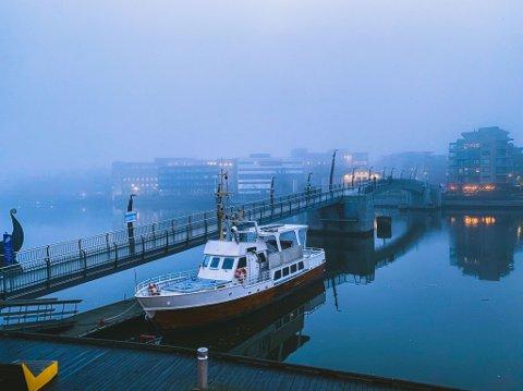Det blir lite sol og lave temperaturer i Tønsberg til uka, i følge meteorolog Per Egil Haga.