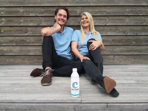 SUKSESS: Etter flere runder med testing av produktet, kjennes det godt for Thomas Garnes og Sølvi Hjelmeland å få belønning for strevet.