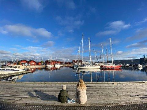 Holmestrand er blant Vestfold-kommunene med stigende smittetrend akkurat nå.