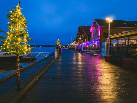 GRÅVÆR: Været vil i dagene framover fortsette i sin grå tone. Det er varslet regn over Tønsberg en hel uke framover, og det er lite som tyder på at vi får en hvit jul.