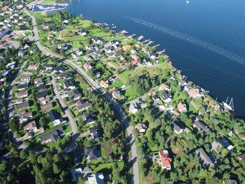 KA-CHING! Ingen andre steder i Tønsberg og Færder hadde de like høy inntekt som i Husvik-området. (Arkivfoto)