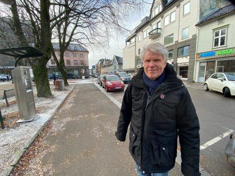 TAR PÅ ALVOR: Geir Viksand, kommunalsjef for Samfunns- og næringsutvikling sier at bekymringene og innspillene som har kommet i forbindelse med arbeidet med nye løsninger for kollektivtransport i Tønsberg sentrum, tas med i videre arbeidet.