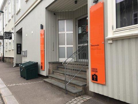 FLYTTER: Møtestedet blir ikke lenger å finne i Storgaten 7-9 i Tønsberg.