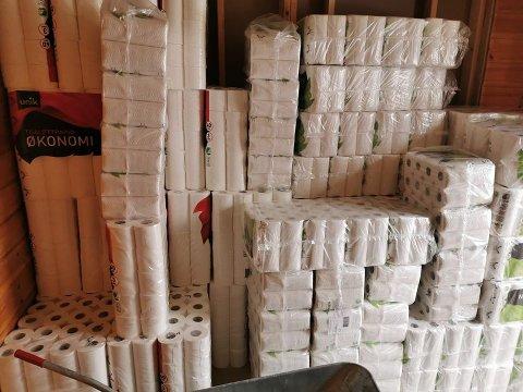LAGER: HEI IL har fått mange henvendelser på om de har mer dopapir de siste dagene.