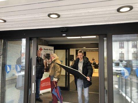 PRØVER IGJEN: Det ble flertall mot prosjektet til Andreas Hojem Olsen og Format Eiendom, men han satser på at det snur i formannskapet og kommunestyret.