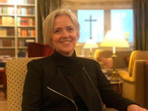NY JOBB: Anne-Rigmor Stock Evje har nå fått ansvaret for de katolske skolene i Norge.