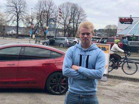 MÅ BETALE: Patrick Trondsen nektet å betale forelegget han fikk etter å ha brukt vannscooter i Færder nasjonalpark to ganger i sommer fordi han mente forbudet var ulovlig. Han fikk ikke medhold i Vestfold tingrett.