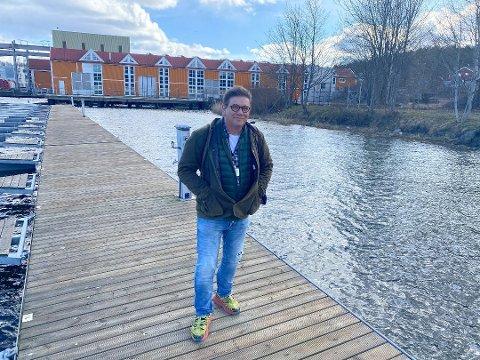 RIKTIG PLASS: Per Martin Aamodt (Ap) mener at Bolærnebåtene skal fortette å gå fra Kanalveien 2.