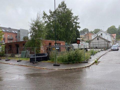 REVET: To av tre hus i Snorres gate er allerede revet. Får Petter Samuelsen tommelen opp fra politikerne, ligger alt til rette for byggestart.