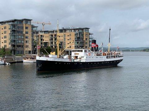 """KLAR: DS """"Kysten"""" er klar for et Oslofjord-cruise tur/retur hovedstaden."""
