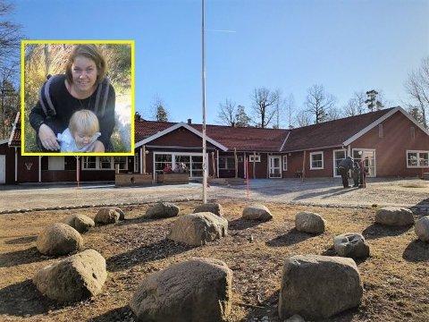 RAMNES PRIVATE BARNEHAGE: Lene Blichfeldt Ohrem har begge døtrene sine i Ramnes private barnehage