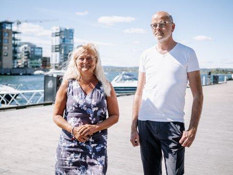 FELLES UTFORDRINGER: Færder-ordfører Jon Sanness Andersen var redd for at diskusjonen skulle gå på at Tønsberg snek i køen da Presterødpakka ble tatt ut av bypakken. Men han og ordførerkollega Anne Rygh Pedersen er klare på at begge prosjektene er viktige for både Tønsberg og Færder.