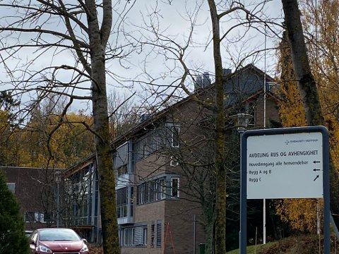 SMITTE: Her på Skjerve er en person smittet av korona. Ti er i karantene.