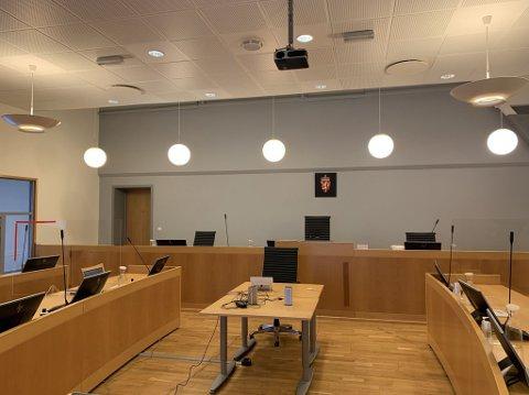AVGJØRES HER: Den seks uker lange rettssaken har oppstart i Horten tingrett tirsdag 19. januar.