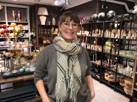 GOD SPIRIT: Birgitte Stokke Brudal kan se tilbake på noen gode måneder for butikken Spirit. – Julen 20202 var all time high, sier hun.