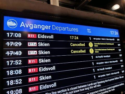 Den planlagte ombyggingen av Tønsberg stasjon som starter i 2022 er nødvendig for å kunne øke antallet avganger fra Tønsberg mot Oslo i 2025, skriver Lars Tangerås.