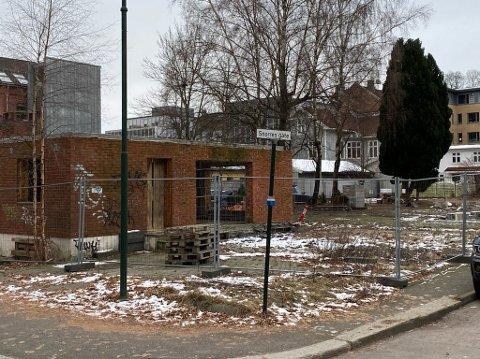KVIKKLEIRE: I hele området rundt Snorres gate er det kvikkleire like under overflaten. Utbygger her vil stabilisere grunnen før utbygging - noe som ikke har vært gjort hos naboene.