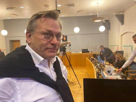 SKIFTER UT:  Thomas Skjelbred i Elden advokatfirma AS erstatter Vibeke Hein Bæra som forsvarsadvokat til arkitekt  Rune Breili.