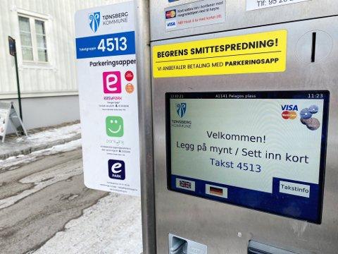 ØKER: Fra mandag blir det nye priser på parkering ved kommunale parkeringsplasser i Tønsberg.