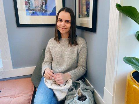 MYE Å SPARE: Silje Solli (22) har mange tips om hvordan du kan sikre store trendplagg til en litt rimeligere penge.