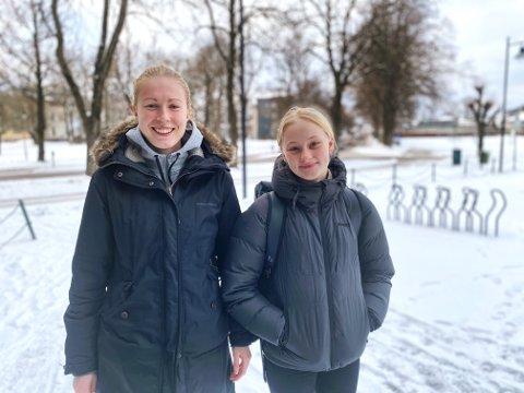 Maiken Byman (20) og Amanda Dahl Kjendlie (15) satte seg et ekstremt mål, men etter 17,5 time nådde de det.