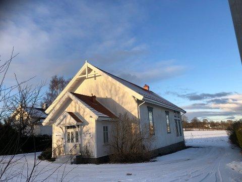 FLERE MULIGHETER: Her har Nøtterøy Fysikalske Institutt tidligere holdt til, nå ligger næringstomten på markedet og har potensiale til å bli både kontorer eller bolig.
