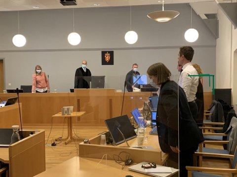 SISTE DAG: Den lange rettssaken mot de tre tiltalte i Tjøme-saken er ved veis ende. Torsdag faller dommen.