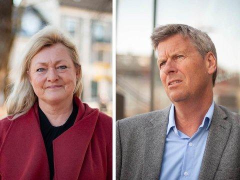NYE MIDLER: Ordfører Anne Rygh Pedersen og næringssjef Øystein Hjørnevik er opptatt av å få pengene raskt ut til de som sliter.