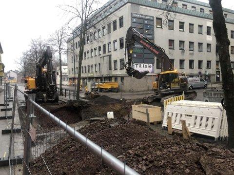 Arbeidene i Stoltenbergs gate blir forsinket med flere dager.