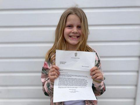 SKREV BREV: Fia har fått svar fra Erna Solberg om hvorfor skolen ikke kan starte senere.