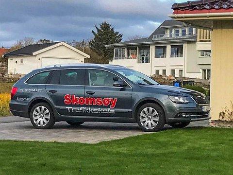 BLE STJÅLET: Det var denne bilen som mandag ble stjålet fra verkstedet på Nøtterøy.