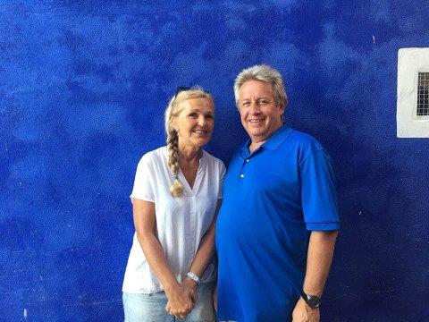 TØFT ÅR:Marianne og Pablo Sbertoli forteller at hverdagen i Spania går bra, men det siste året har vært tøft for mange av deres bekjente i området.