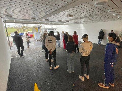 SMITTE: To elever ved Nøtterøy videregående skole har testet positivt på covid-19.
