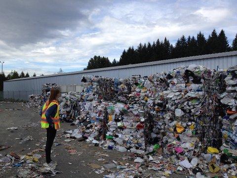 PLASTBERG: Det er behov for nærmere 18 nye anlegg for sortering og gjenvinning av plast, og her kommer Tønsberg inn i bildet.