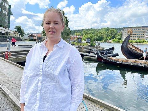 FORTVILET: Småbarnsmor Nicoline Cesilie Pedersen får livet snudd på hodet på grunn av at sønnen ikke er født på riktig tidspunkt, og dermed mister retten til barnehageplass.