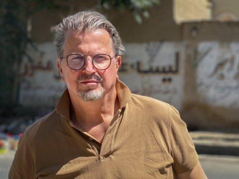 KOM IKKE UT: Direktør i Afghanistankomiteen, Terje Watterdal, måtte gi opp evakueringsforsøket fra Kabul.