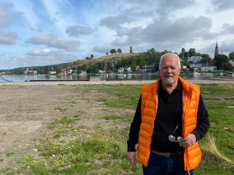 FESTIVAL: Bjørn Jacobsen har lang erfaring fra store festivaler. Han tror med Slottsfjellet som bakteppe, og en stor by som Tønsberg, så er alt lagt til rette for en unik festival.