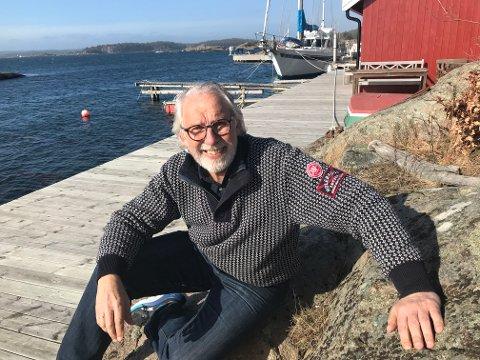 NORGESFERIE: Carl-Erik Grimstad har både vært hjemme på Tjøme i ferien, men også besøkt en rekke steder i Norge som blant annet Vestlandet, Trøndelag og Nordland.