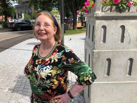 VAR MED I FORESTILLING: Vivi Merete Jørnsen var med i Kristinaspelet i 1971.