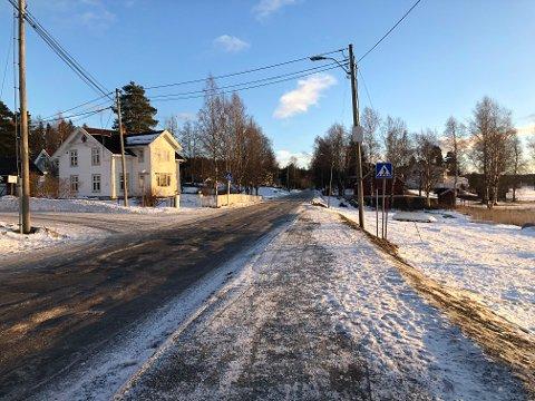 KAN UTSETTES: Prosjektet i Fjordgata på eina kan bli utsatt.