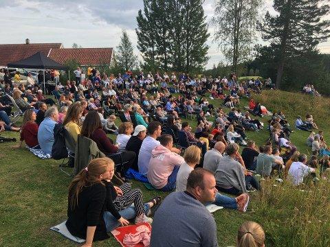 BLIR FLERE: Befolkningen i Vestre Toten vokste klart mest i Gjøvik-regionen i løpet av første kvartal i 2020. Dette bildet er fra Einadagene i fjor.