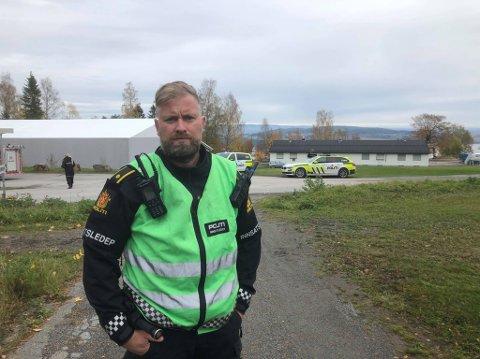 INNSATSLEDER: Ulf Sørumshagen hos politiet i Innlandet.
