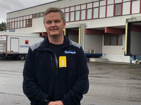 BEREDT: Sjef Nils Ole Balke ved Sivilforsvarets opplæringssenter på Starum valgte å evakuere samtlige kursdeltakere.