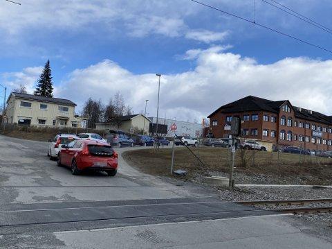 MASSIV TESTING: Mange personer er testet ved teststasjonen på Sagatunet på Raufoss de siste to ukene. ARKIV