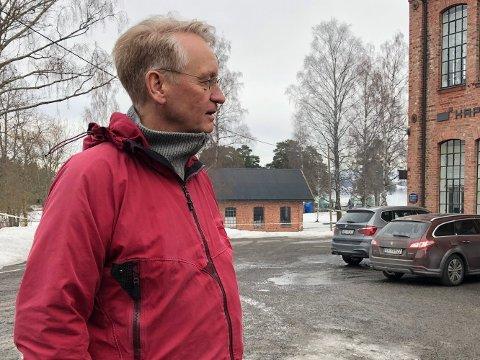 MARERITT: Mjøsmuseets direktør Arne Julsrud Berg forteller at brann er det de er mest bekymret for.