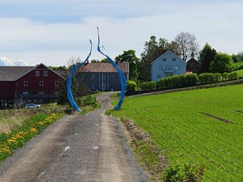 DAGSTURHYTTE: Ved Billerud foreslår Østre Toten kommune å bygge dagsturhytte ved Mjøsa.