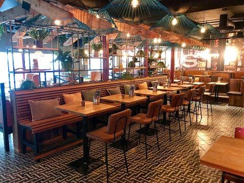 STENGT: De fleste av byens restauranter har åpnet etter at myndighetene lempet på smittevernreglene. Men ikke alle er tilbake.