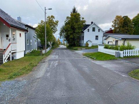 STENG: Denne veien ønsket tromsøværingen at skulle stenges.
